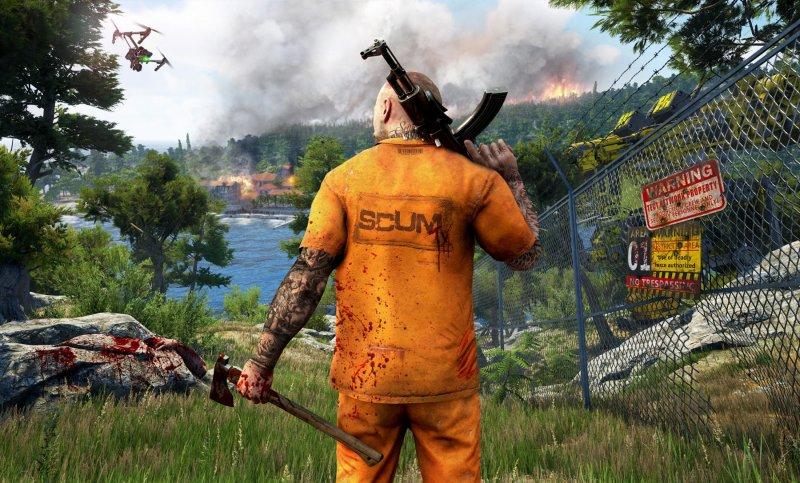 Devolver Digital annuncia SCUM, survival open world sviluppato con Unreal Engine 4