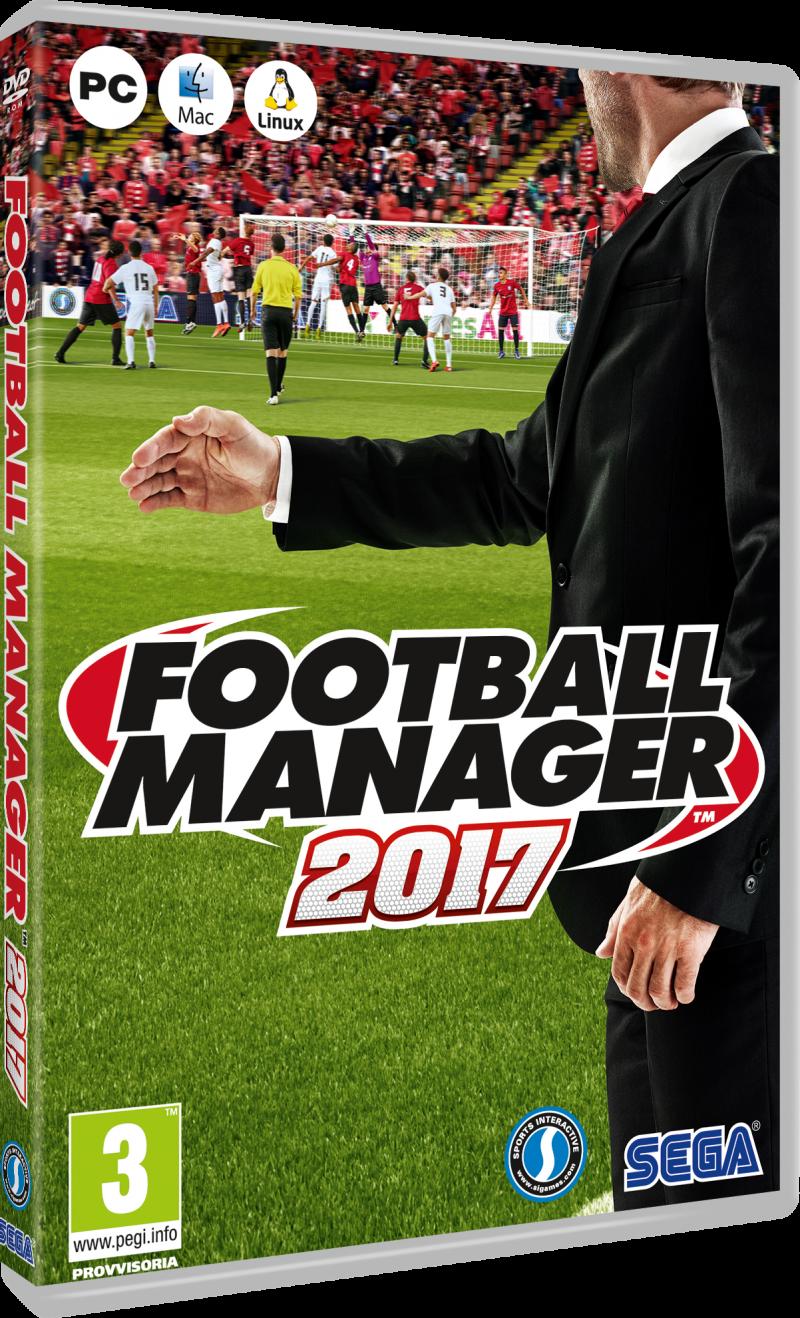 Football Manager 2017 esce nei negozi il 4 novembre