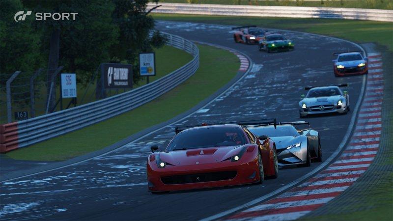 Gran Turismo Sport a 1800p upscalati su PlayStation 4 Pro, supporto per HDR