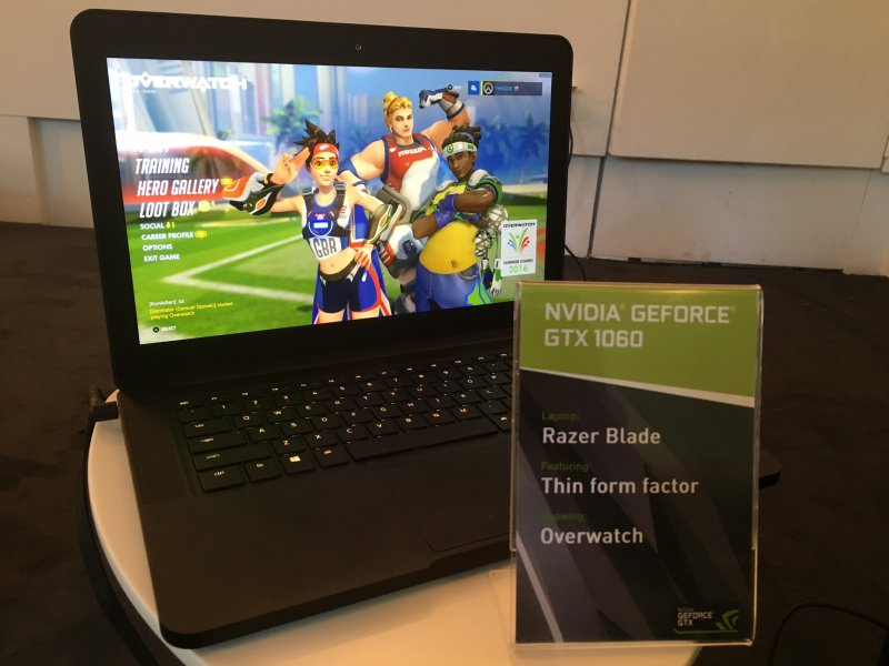 NVIDIA GeForce serie 10 mobile