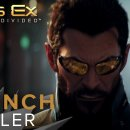 Deus Ex: Mankind Divided - Trailer di lancio