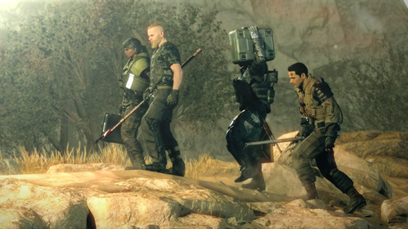 Una sessione con Metal Gear Survive
