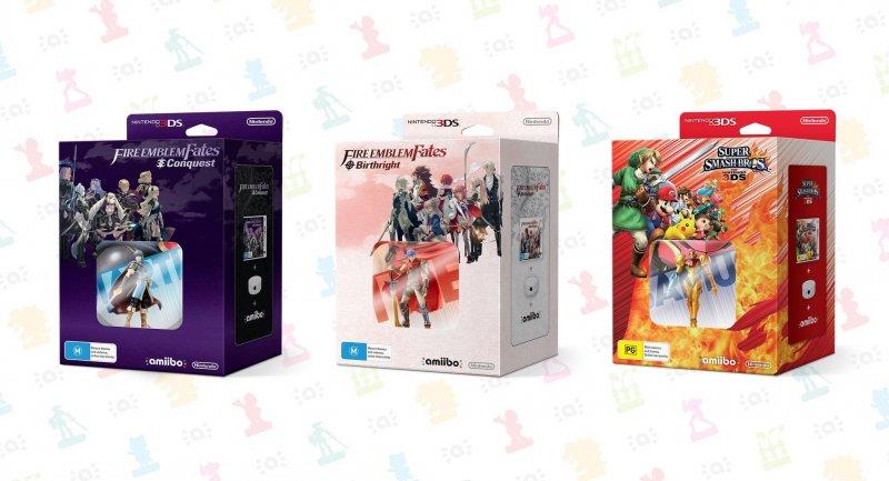 Nintendo annuncia nuovi bundle amiibo per Fire Emblem Fates e Super Smash Bros. 3DS