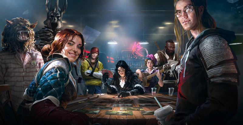 CD Projekt ha avviato la beta a porte chiuse di Gwent: The Witcher Card Game