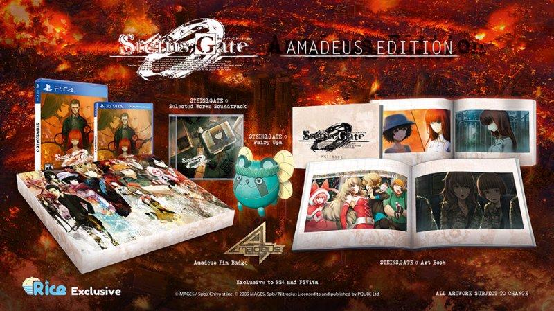 Annunciata la Amadeus Edition di Steins;Gate 0