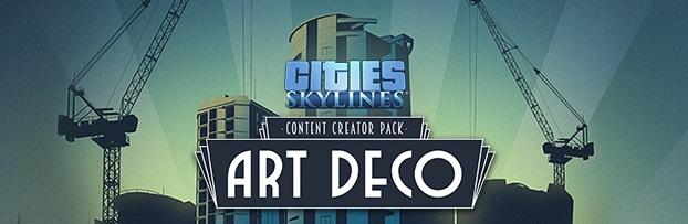 Annunciato il Content Pack: Art Deco di Cities: Skylines