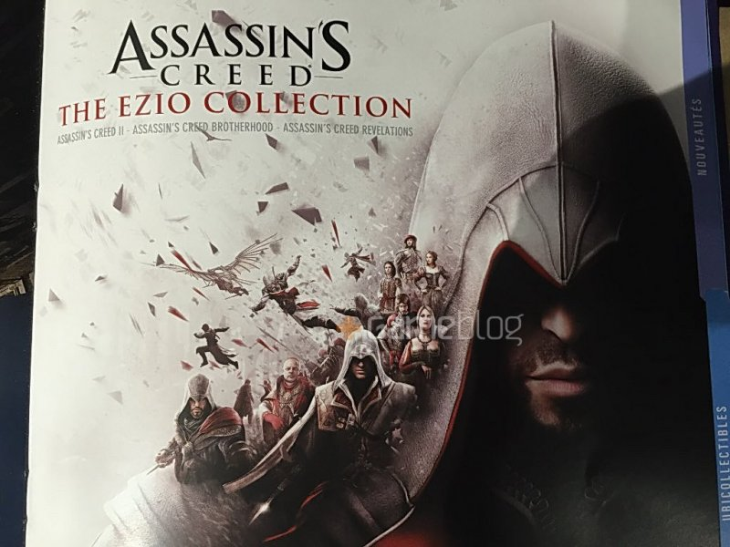 Una foto confermerebbe Assassin's Creed: The Ezio Collection, in arrivo a novembre su PlayStation 4 e Xbox One