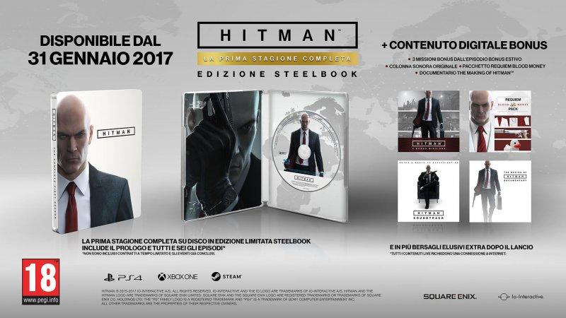 Hitman: La Prima Stagione Completa arriverà nei negozi il 31 gennaio 2017
