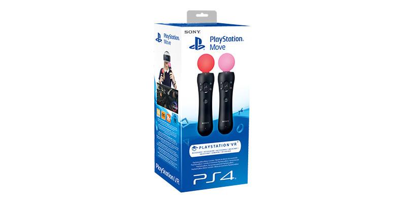 Una nuova versione di PlayStation Move sarà messa in vendita al lancio di PlayStation VR