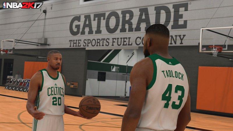 Michael B. Jordan, l'attore di Creed, sarà presente in NBA 2K17