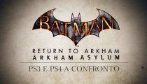 Batman: Return To Arkham - Trailer Comparativo