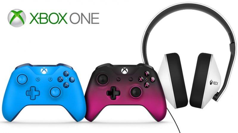 Tre nuove colorazioni per i controller e un nuovo headset per Xbox One