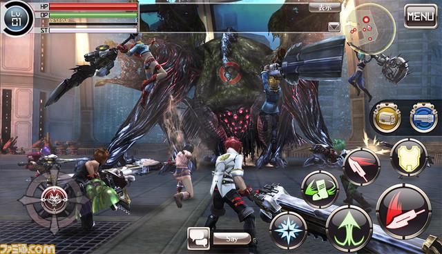 Annunciato God Eater Online per i dispositivi mobile