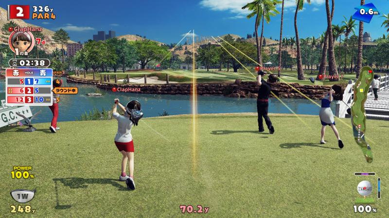 Tutti quanti voglion fare il golf