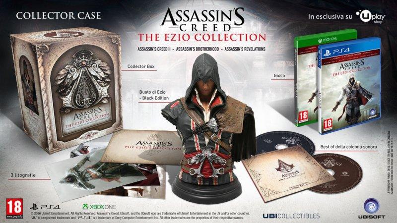 Annunciato il Collector's Case di Assassin's Creed: The Ezio Collection