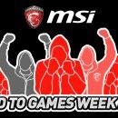 MSI presenta il torneo Road to Games Week 2016