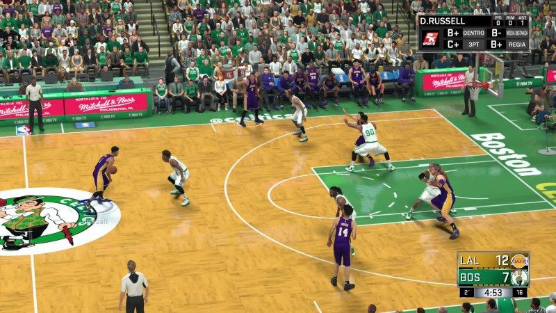 NBA 2K18: Palle al balzo