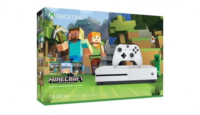 Microsoft annuncia un nuovo bundle di Xbox One S con Minecraft