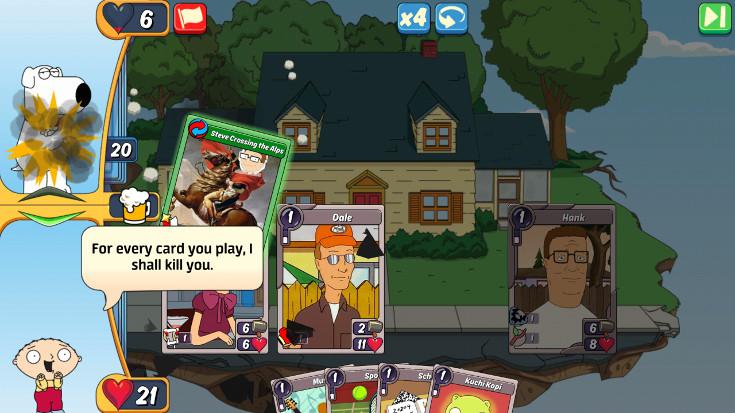 Guerra di carte e cartoni
