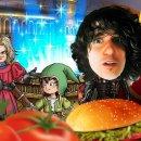 Raffaele Staccini a pranzo con Dragon Quest VII per Nintendo 3DS