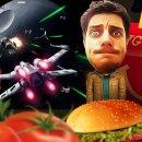 Vincenzo Lettera prova a mettere il missile in buca nel pranzo con Star Wars: Battlefront - Morte Nera