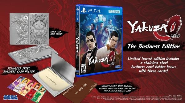 """Annunciata la """"The Business Edition"""" di Yakuza 0"""