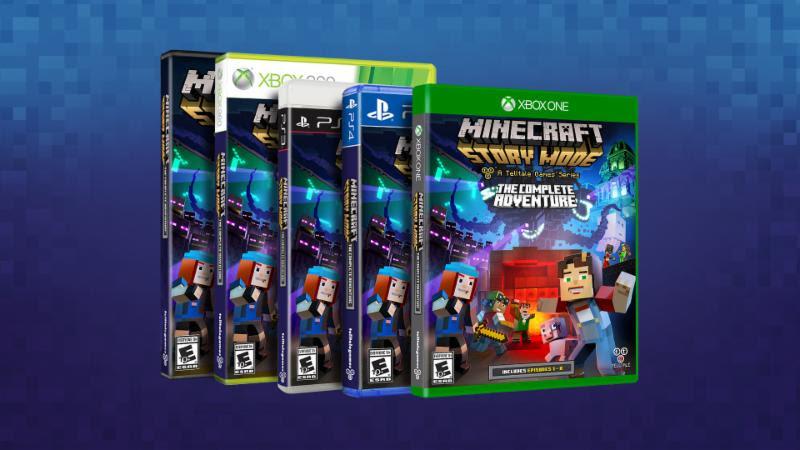 Minecraft: Story Mode - The Complete Adventure sarà disponibile in versione retail a partire da ottobre