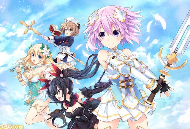 Four Goddesses Online: Cyber Dimension Neptune utilizzerà l'Unreal Engine 4