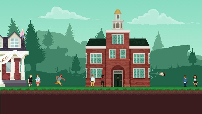 Il platformer Dad Quest arriverà in accesso anticipato su Steam all'inizio del 2017