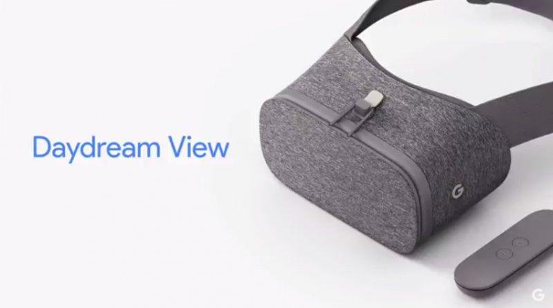 Google ha presentato Daydream View, il suo nuovo visore per la realtà virtuale