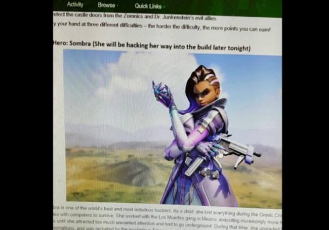 Un nuovo indizio suggerisce che Sombra sarà il prossimo personaggio aggiunto in Overwatch