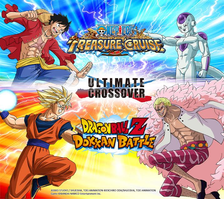 One Piece Treasure Cruise e Dragon Ball Z Dokkan Battle avranno una campagna crossover