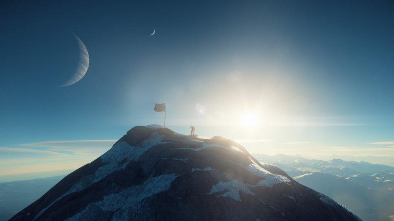 Dettagli grafici a parte, la generazione procedurale dei pianeti di Star Citizen potrà fare meglio di quella di No Man's Sky?