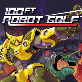 100ft Robot Golf per PlayStation 4
