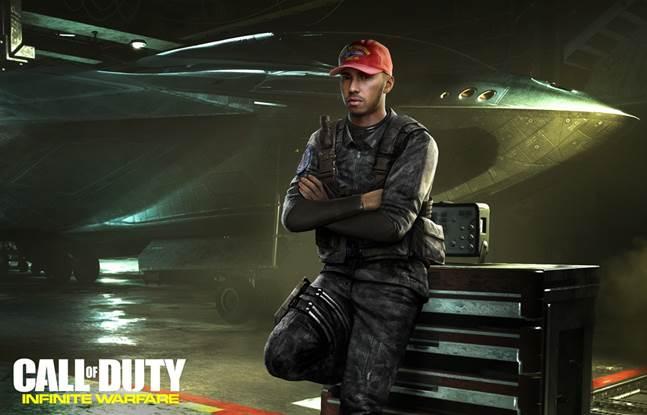 Lewis Hamilton fa parte del cast di Call of Duty: Infinite Warfare