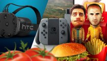 A Pranzo con HTC Vive & Nintendo Switch
