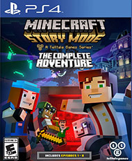 Minecraft: Story Mode - The Complete Adventure per PlayStation 4