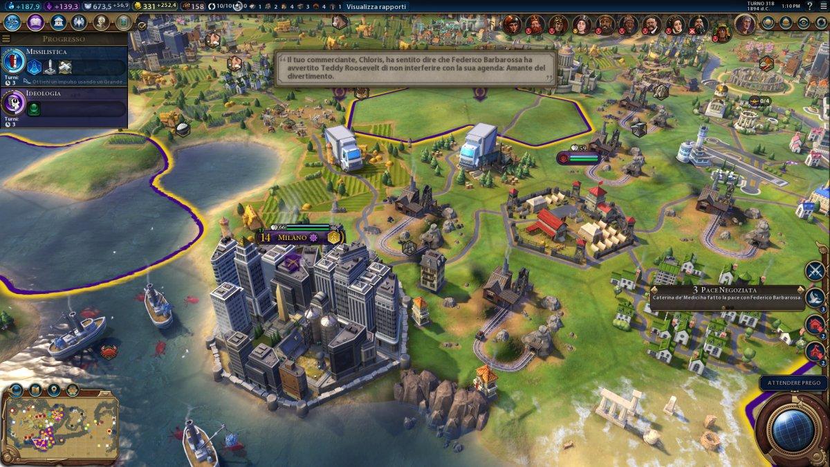 Sid Meier's Civilization VI - Recensione - PC - 175639