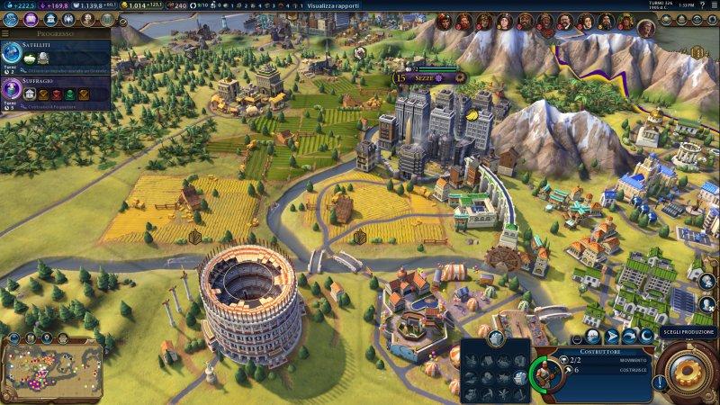 Un milione di copie per Sid Meier's Civilization VI nelle prime due settimane