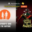 Everybody's Gone to the Rapture, The Deadly Tower of Monsters e altro nei titoli PlayStation Plus di novembre