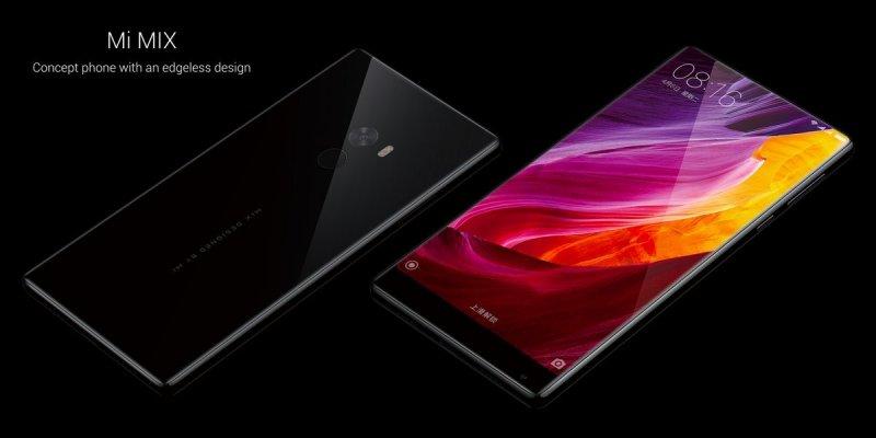 Xiaomi ha presentato Mi Mix, lo smartphone con display senza cornice