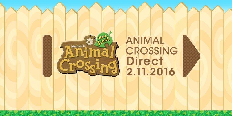 Verrà trasmesso domani, 2 novembre, un Nintendo Direct dedicato ad Animal Crossing: New Leaf