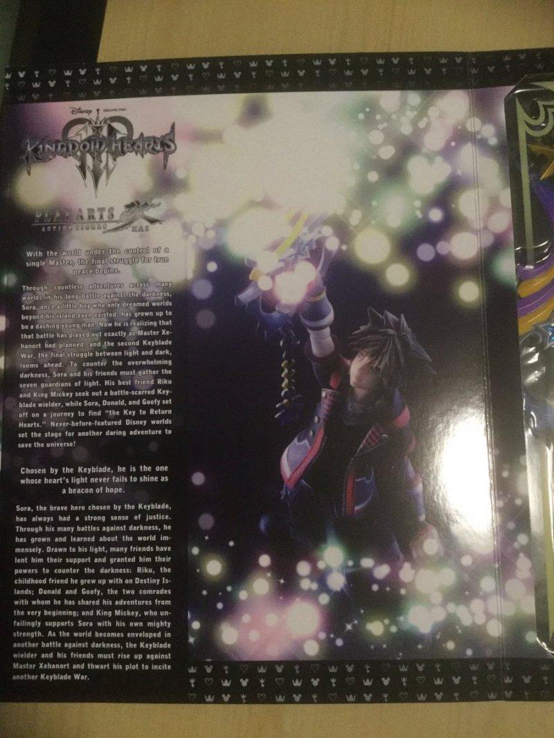 Alcune informazioni sulla trama di Kingdom Hearts III emergono dalla confezione di un'action figure