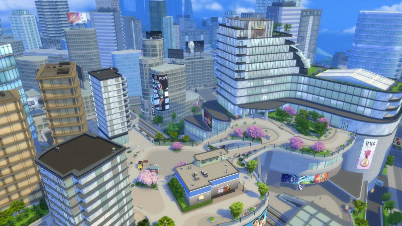 Sims in the city... again!