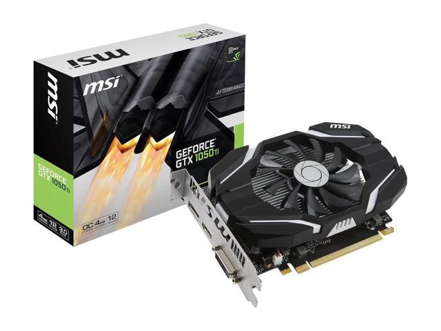 MSI NVIDIA GeForce GTX 1050 2G OC