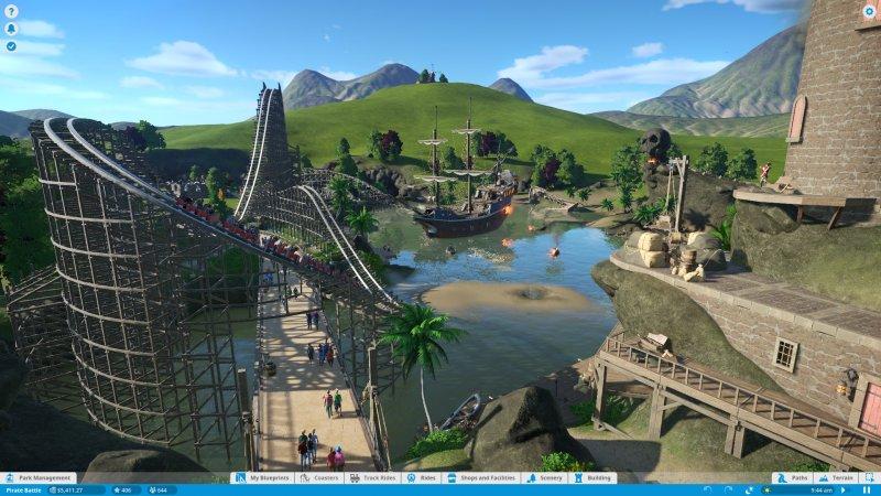 Primo aggiornamento pubblicato per Planet Coaster