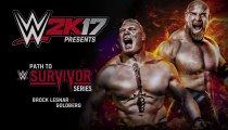 WWE 2K17 - Un trailer con protagonisti Goldberg e Lesnar