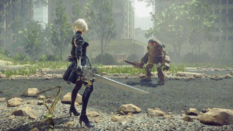 NieR: Automata, il personaggio di 2B in un cosplay insolito
