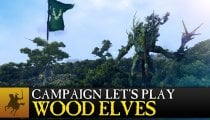 Total War: Warhammer - Realm of the Wood Elves - Video gameplay sulla campagna
