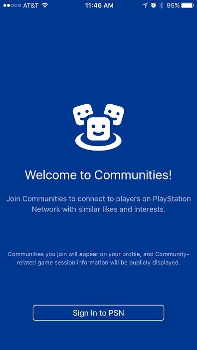 """[Aggiornata] Sony ha lanciato l'applicazione mobile """"PlayStation Communities"""""""